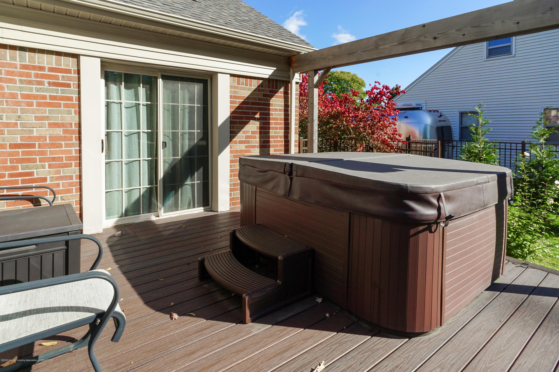 614 Whitehills Dr - Deck & hot tub off master bedroom - 21