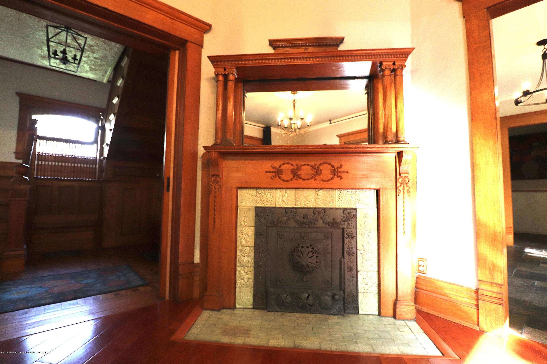 337 S Sheldon St - 9 Parlor Fireplace - 9