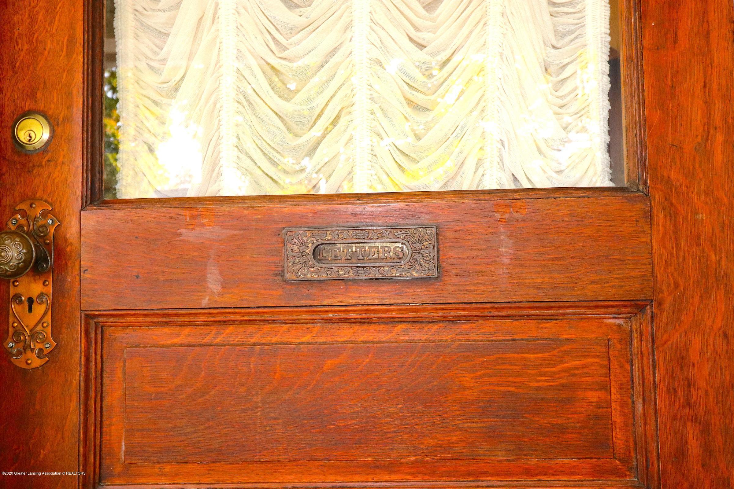 337 S Sheldon St - 2 Front Door Detail - 2