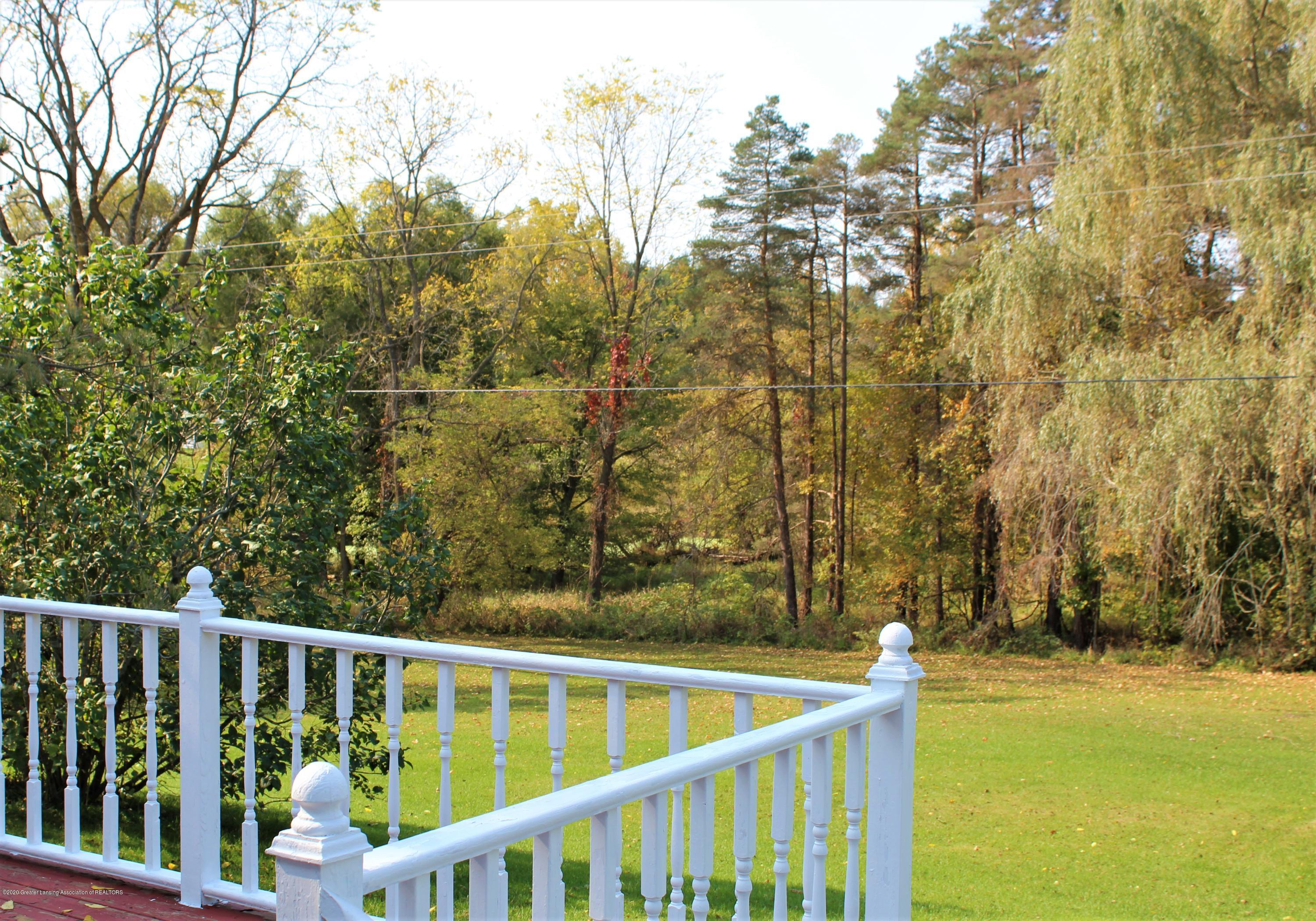 7682 Laingsburg Rd - VIEW FROM DECK TO REAR - 25