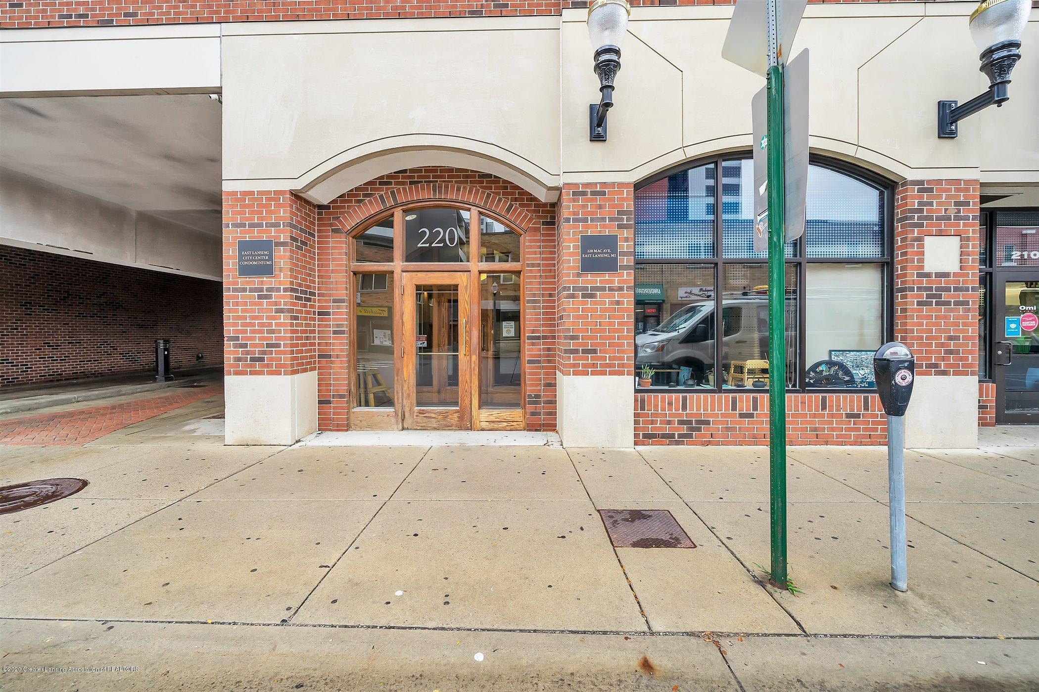 220 M. A. C. Ave Apt 409 - EXTERIOR Entrance to Building - 5