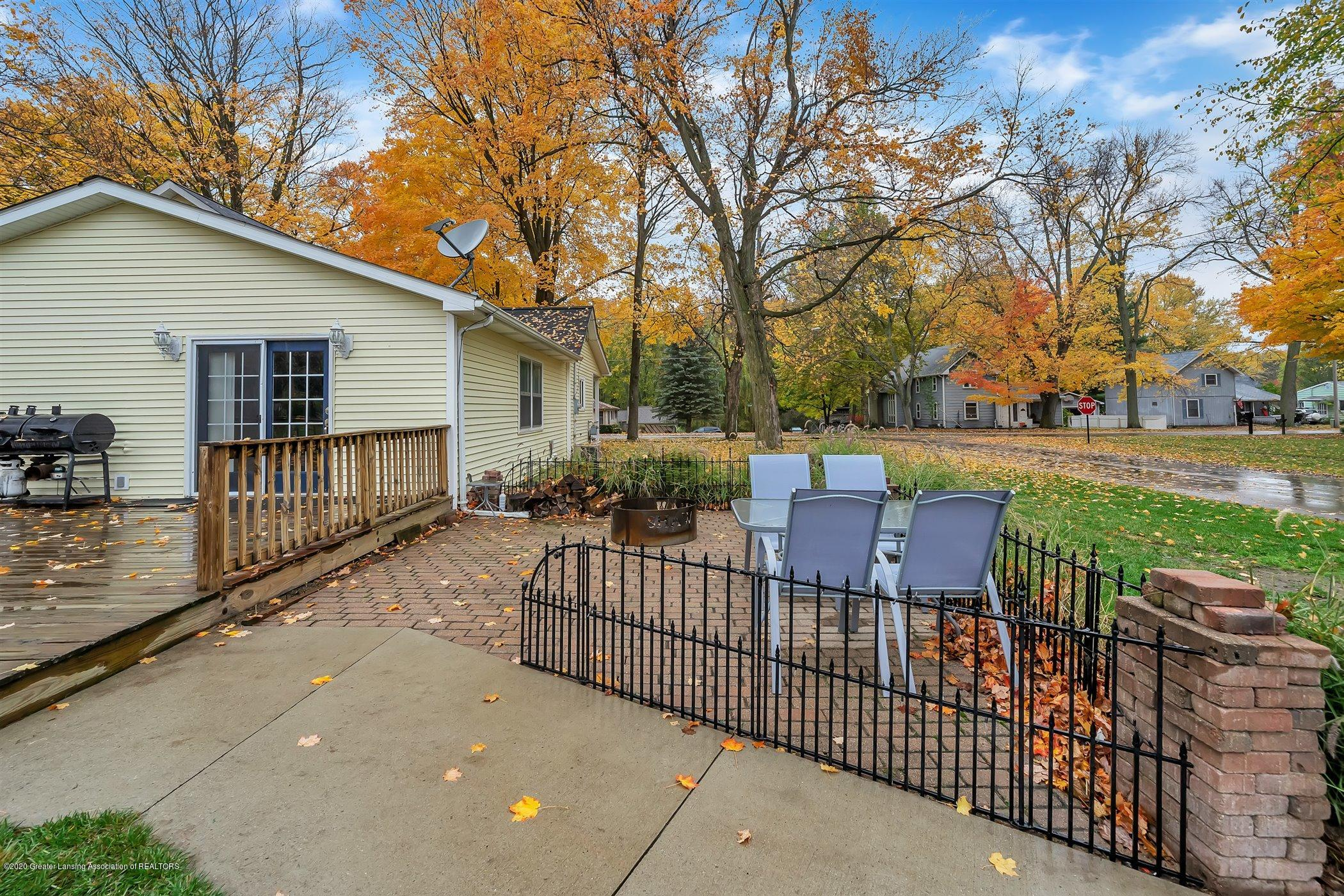 328 E 2nd St - (32) EXTERIOR Rear Deck and Patio - 33