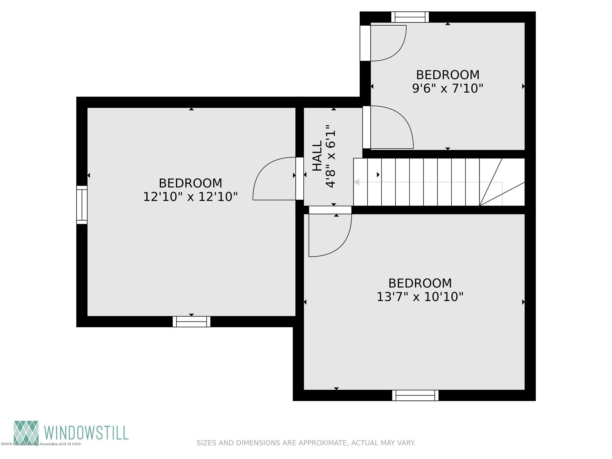 114 E Knight St - Floor Plan Upstairs - 32