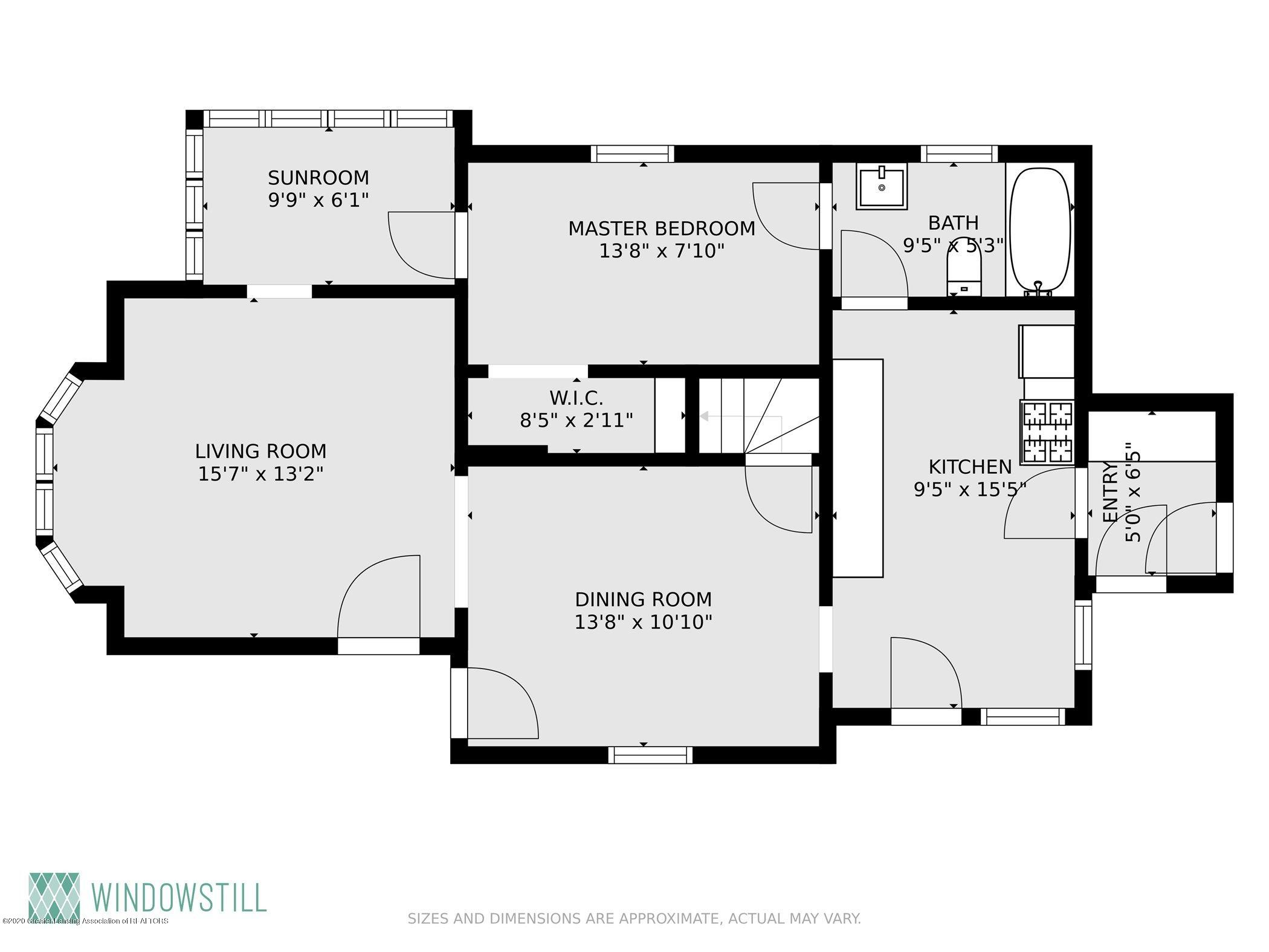 114 E Knight St - Floor Plan Downstairs - 33