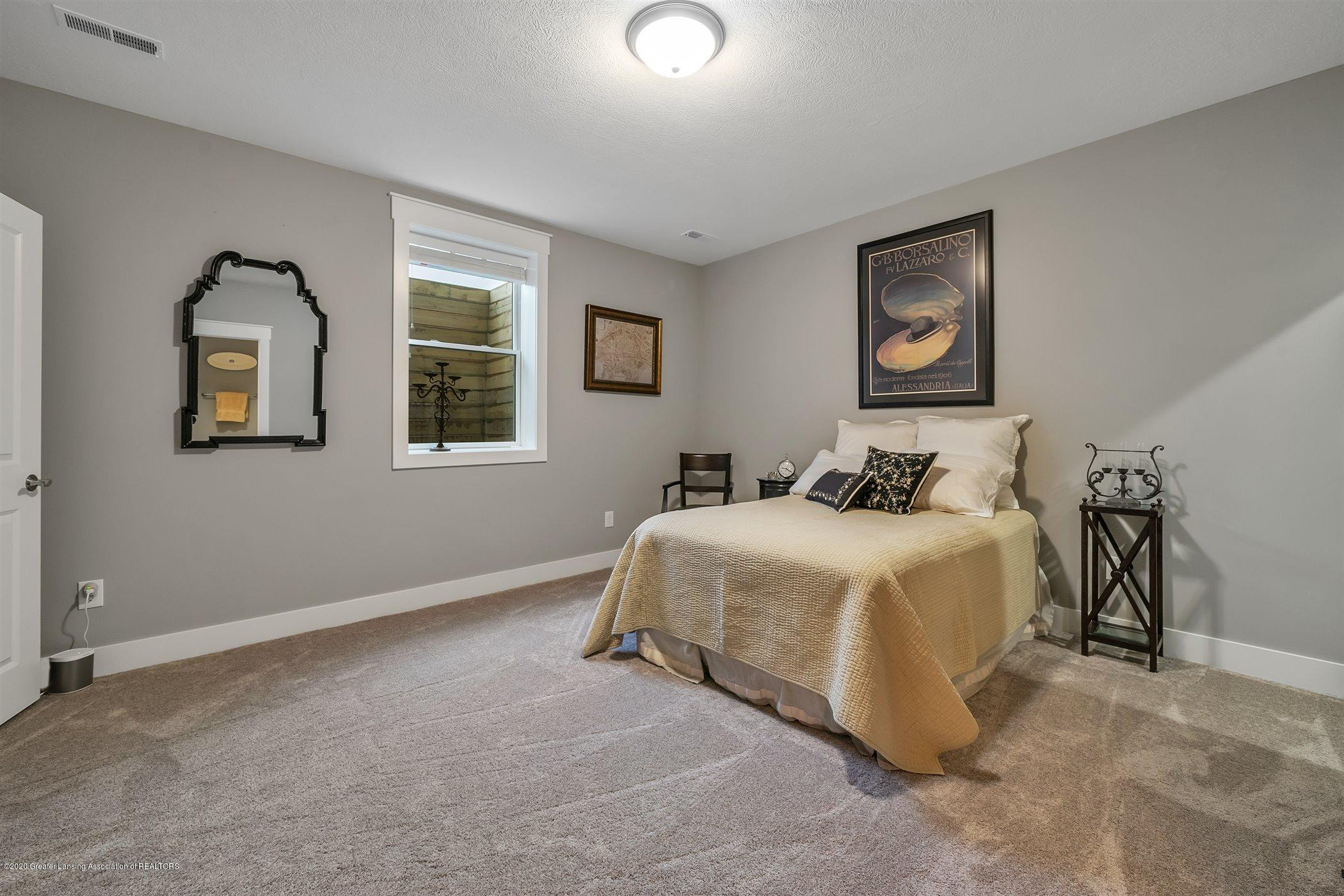 6090 Sleepy Hollow Ln - (35) LOWER LEVEL Bedroom 4 - 36