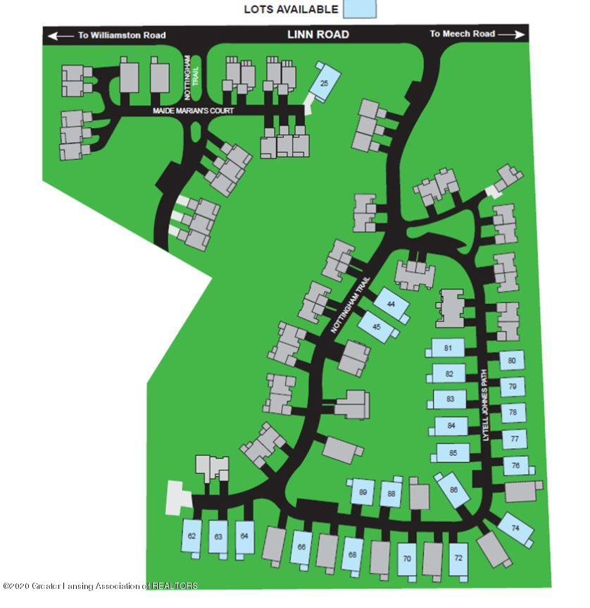 1544 Nottingham Forest Trail #63 - Site Map - 1