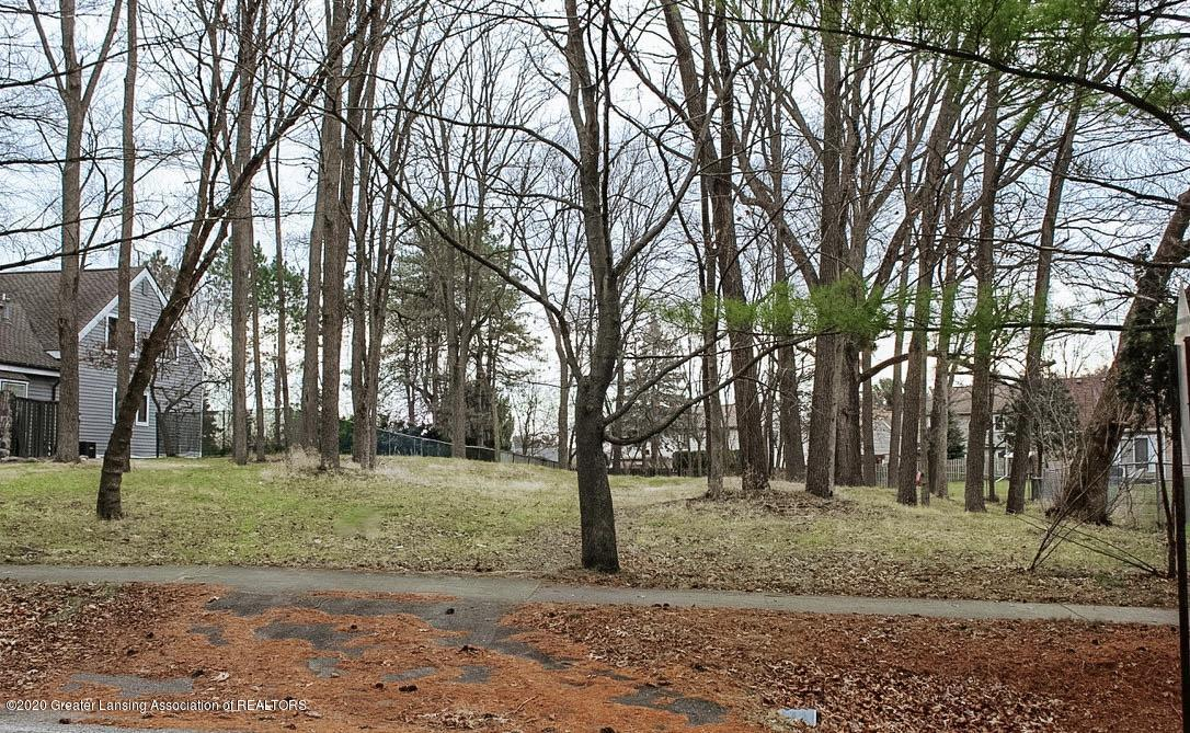 1269 Hatch Rd - lot looking south - 3
