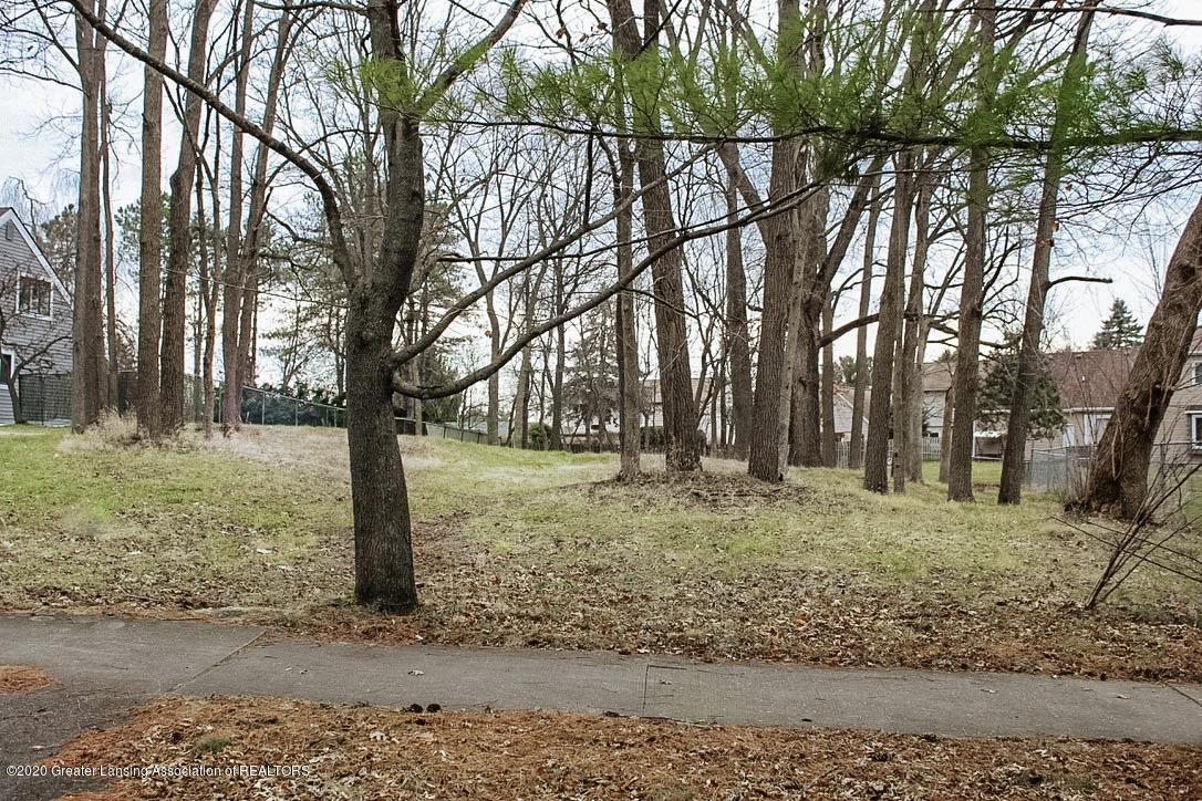 1269 Hatch Rd - lot looking south - 1