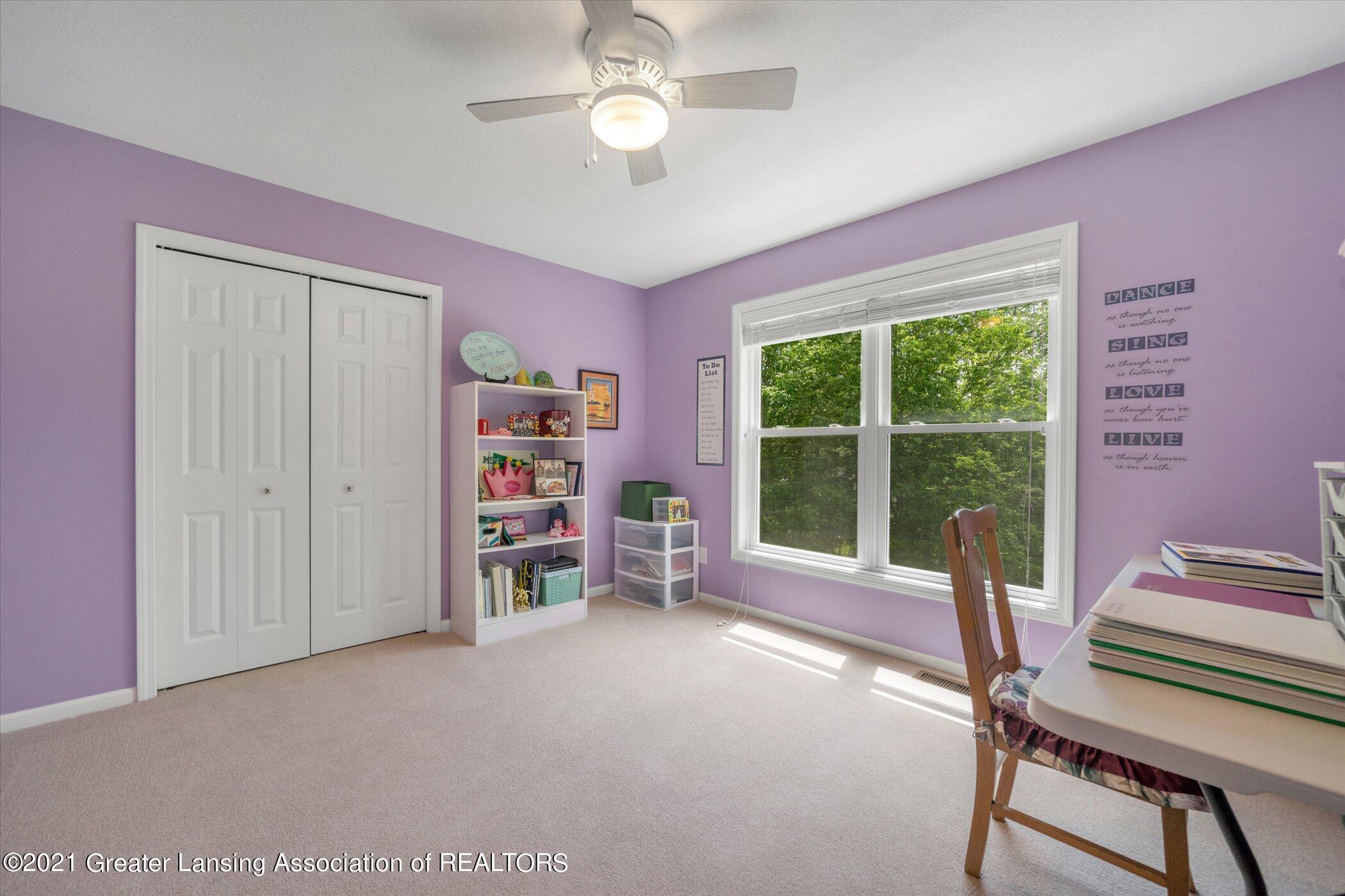 6542 White Clover Dr - UPPER LEVEL Bedroom 3 - 26