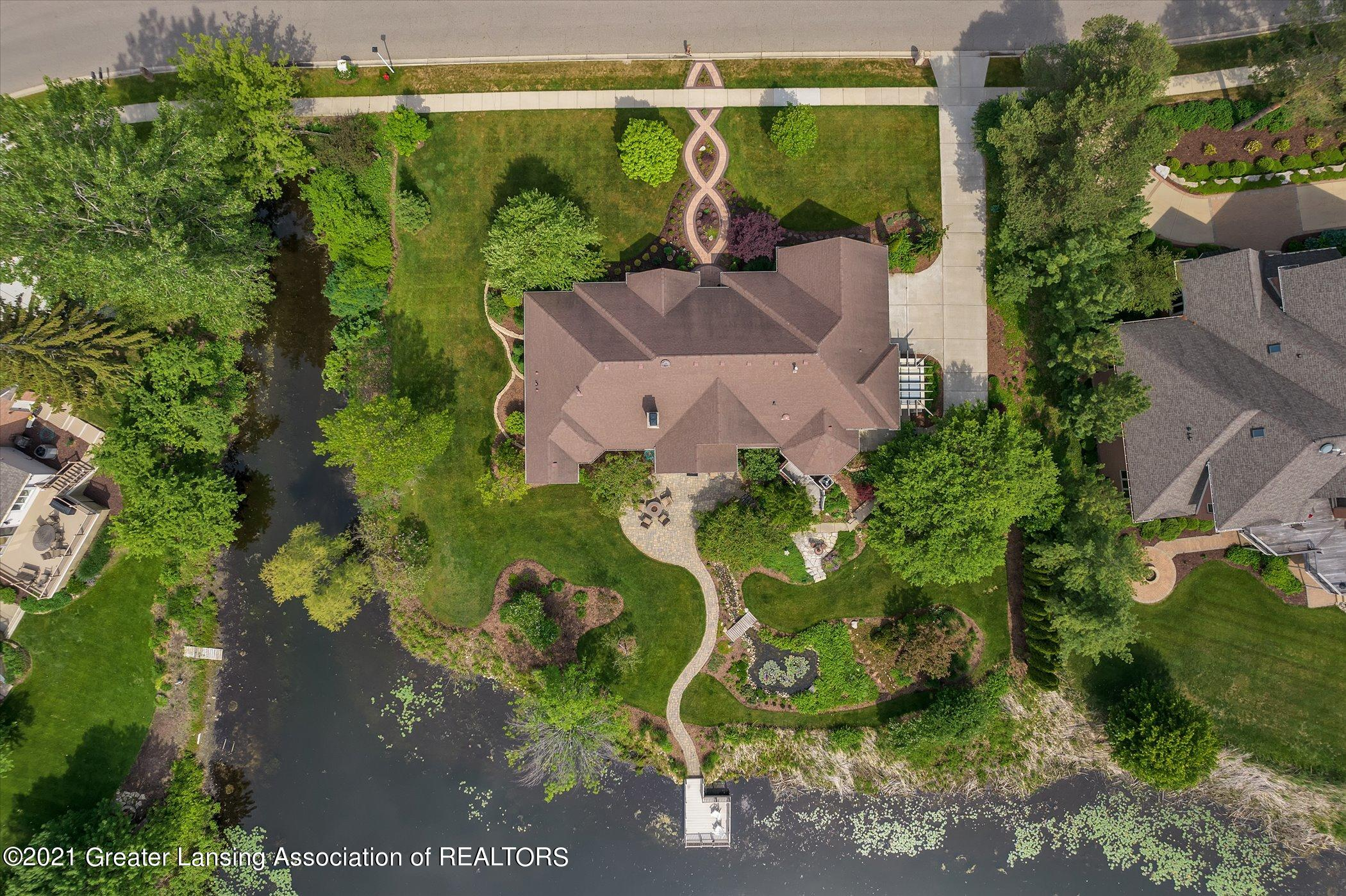 6330 Pine Hollow Dr - EXTERIOR Aerial View - 12
