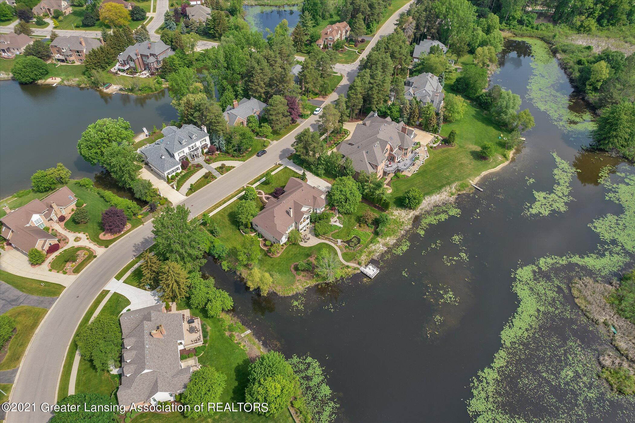 6330 Pine Hollow Dr - EXTERIOR Aerial View - 66