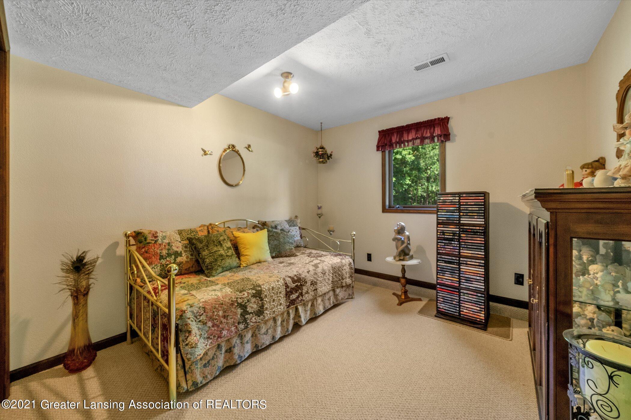 7851 S Cochran Rd - (25)LOWER LEVEL Bedroom 2 - 25