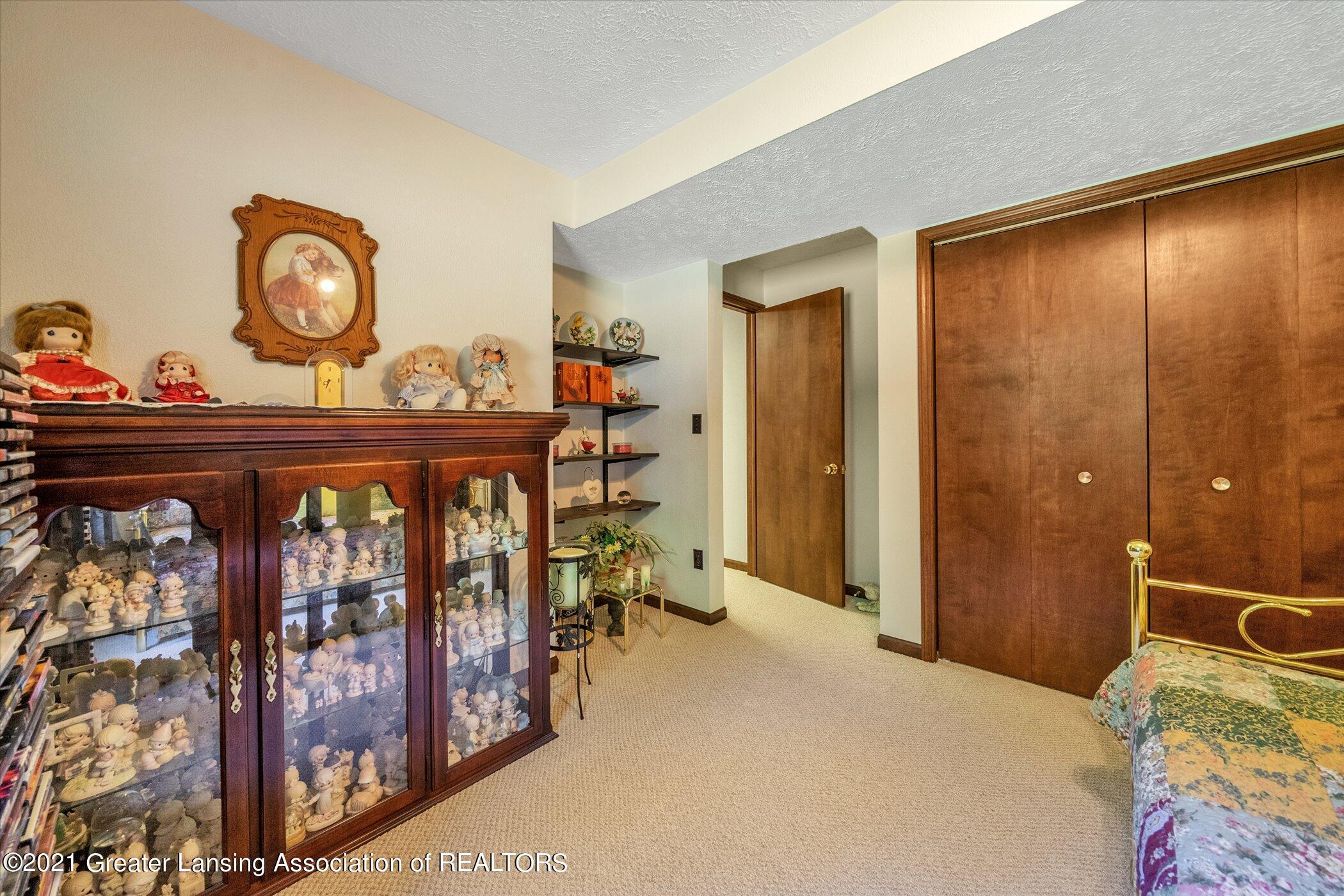 7851 S Cochran Rd - (26)LOWER LEVEL Bedroom 2 - 26