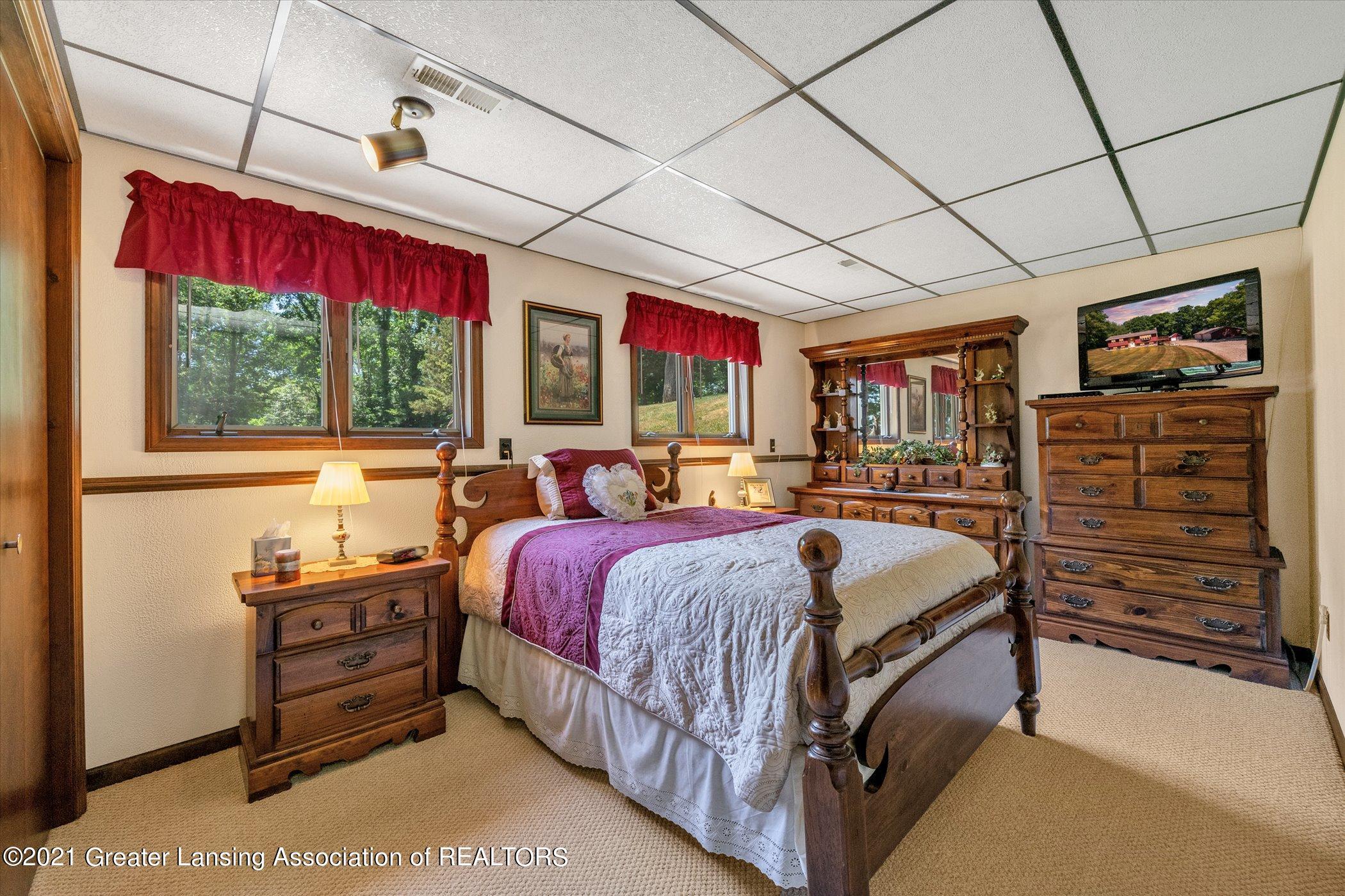 7851 S Cochran Rd - (30) LOWER LEVEL Bedroom 3 - 30