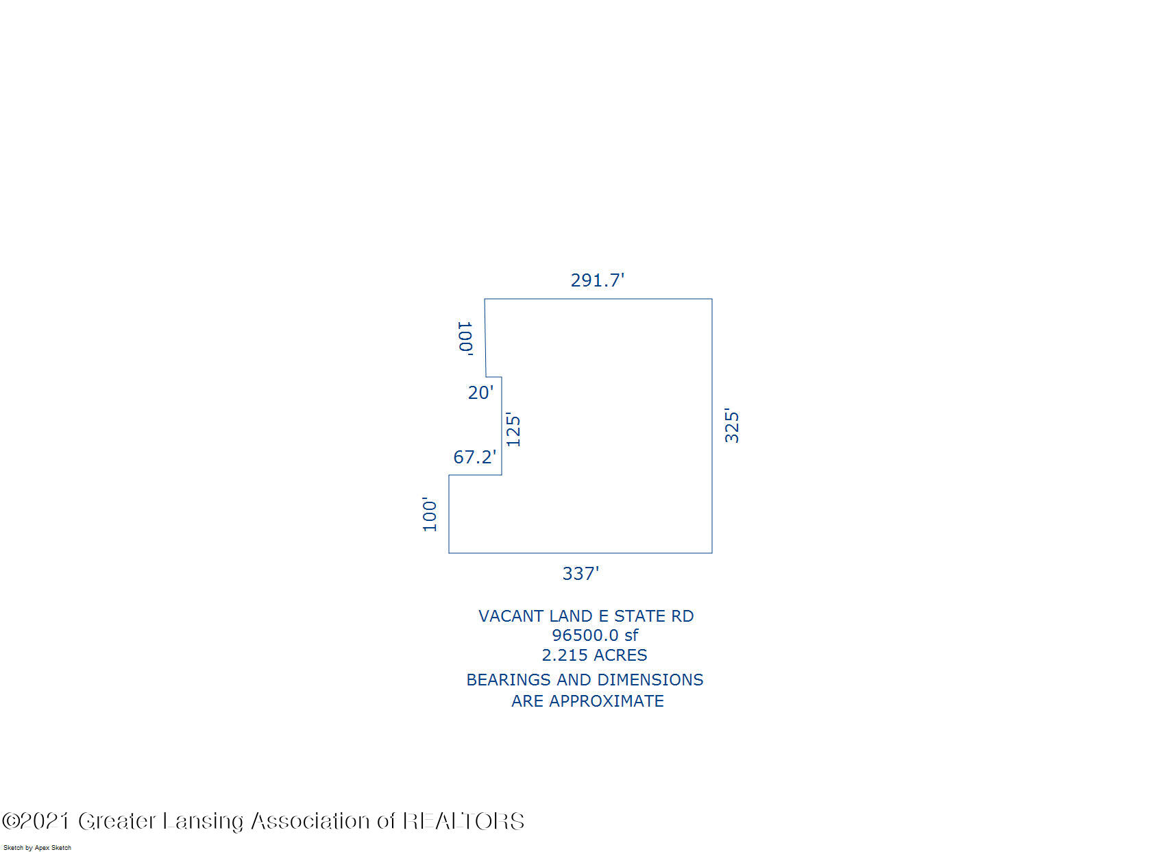 0 State Rd - Lot Dimensions - 7