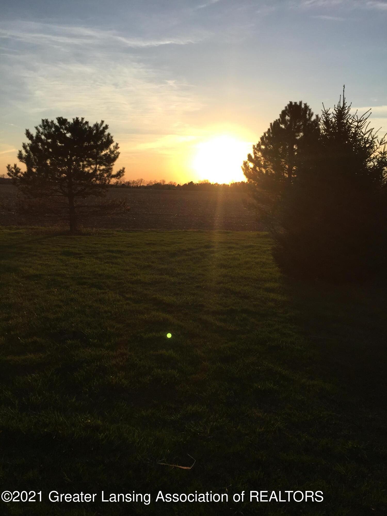 740 Linn Rd - sunset rear yard - 23