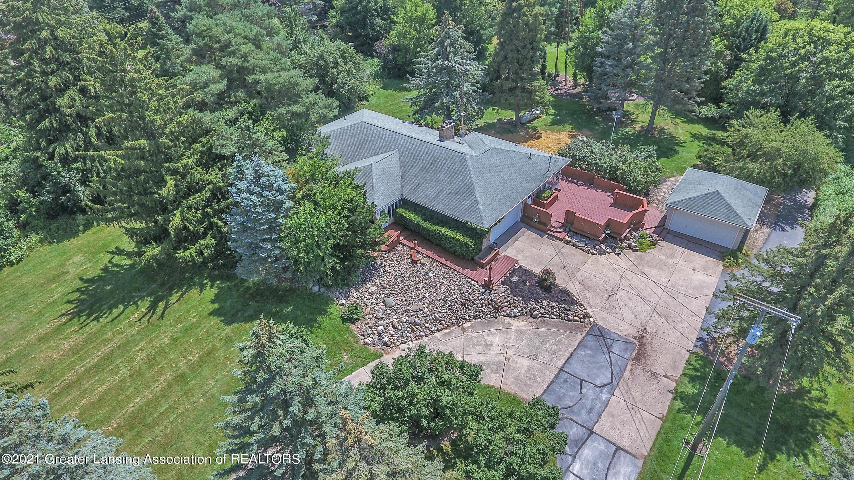 740 Linn Rd - Aerial View of home - 6