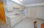 Summer kitchen /2nd kitchen LL frig, stove, and stainless steel sink perfect for lakeside entertaining!