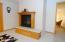 Custom built LL gas fireplace -