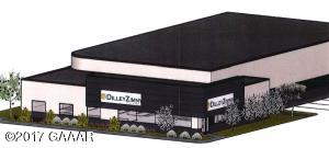 Proposed exterior rendering of building