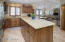 Granite counter tops throughout