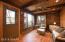 Sitting room of kitchen