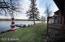 Lake side yard
