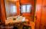 3/4 Tiled shower