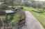 View of yard from deck