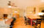 Open concept living spaces.