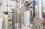 Upgraded furnace and water heater