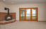 French doors to maint. free decking and lakeside