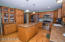 Built in hutch stone counter tops , stainless appliances!