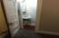 Half Bath in main floor bedroom