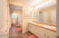 Owner's Suite Bath with whirlpool, shower, walk in closet