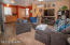 Open floor plan newer carpets and flooring