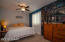 Big owners suite with walk in closet