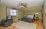 Large Owners Suite with ceiling fan