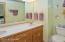Double vanity & tub/shower