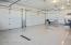 Heated, epoxy floor, hot & cold water