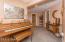 lower hallway to bedroom 4, full bath, & utility room