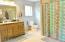 Full Master bath with walk in closet