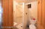 3/4 bath. Seller will leave new shower and floor tiles for buyer.