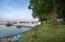 The marina. Private dock slip & Hewitt lift with solar winch are included.