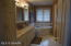 spacious master bath with separate tub and shower