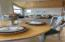 Dine in kitchen with beautiful light
