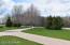 nice yard and wonderful driveway