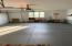 Overisized 2 stall garage w/ room for workshop, golf carts/toys