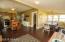 Open floor plan - 9 foot ceilings!