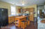 Open Kitchen to the Dining area - great gathering space!